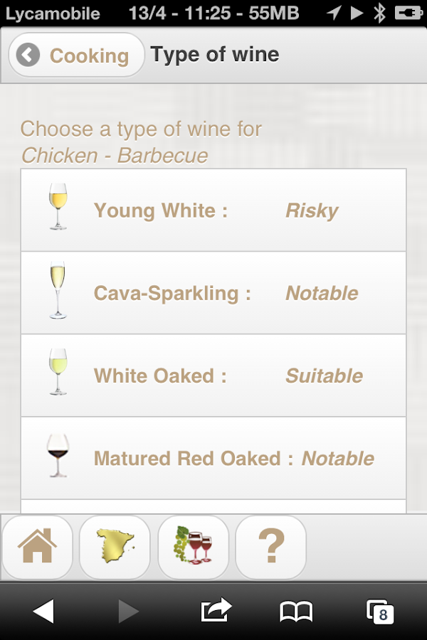 Sommelier Gourmet - screenshot