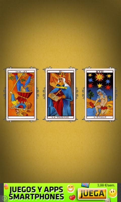 Tarot de la Rosa- screenshot