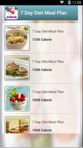Diet recipes planer
