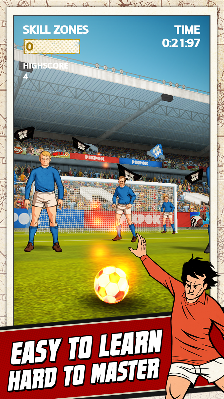 Flick Kick Football screenshot #2