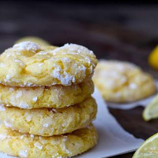 Lemon Bar Cookies.