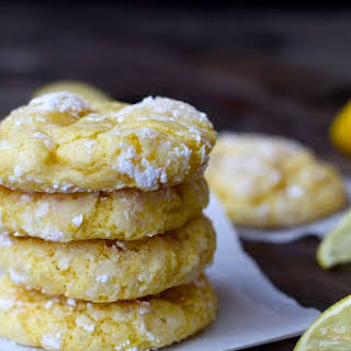 Lemon Bar Cookies.