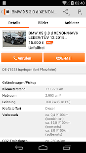 mobile.de - mobile Auto Börse - screenshot thumbnail