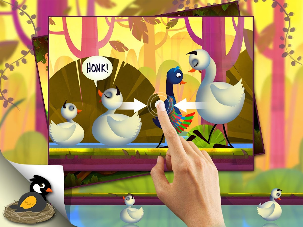 the ugly duckling animated app android apps on google play