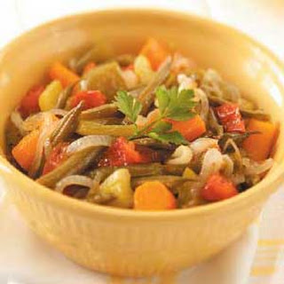 Slow-Cooked Vegetables.