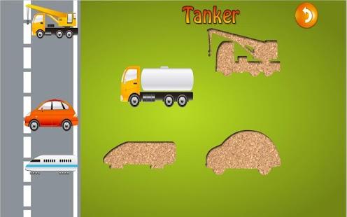 toddler car puzzle for kids screenshot thumbnail