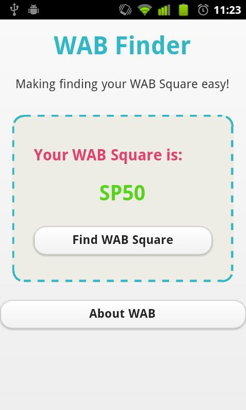 WAB Finder - screenshot