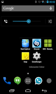 BetterKat CM11 Theme Blue X- screenshot thumbnail