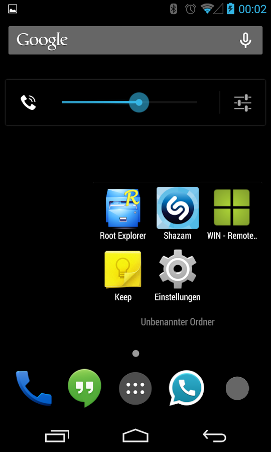 BetterKat CM11 Theme Blue X- screenshot
