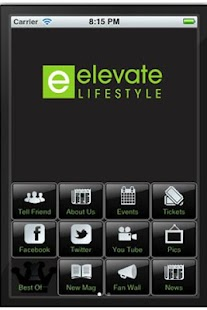 Elevate Lifestyle Mobile APP - screenshot thumbnail