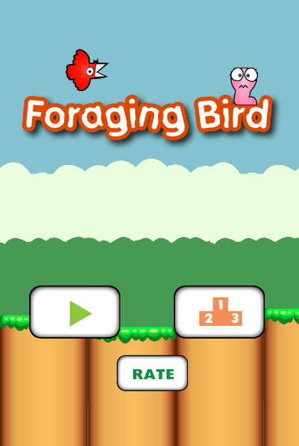 Foraging Bird- screenshot