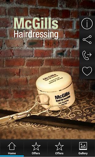 【免費生活App】McGills Hairdressing-APP點子