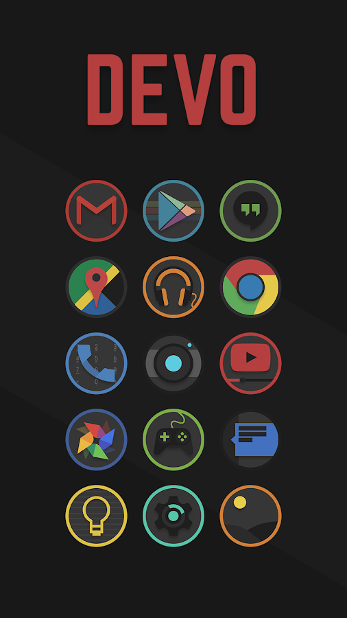 Image result for devo icon pack
