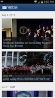 Screenshot of White House