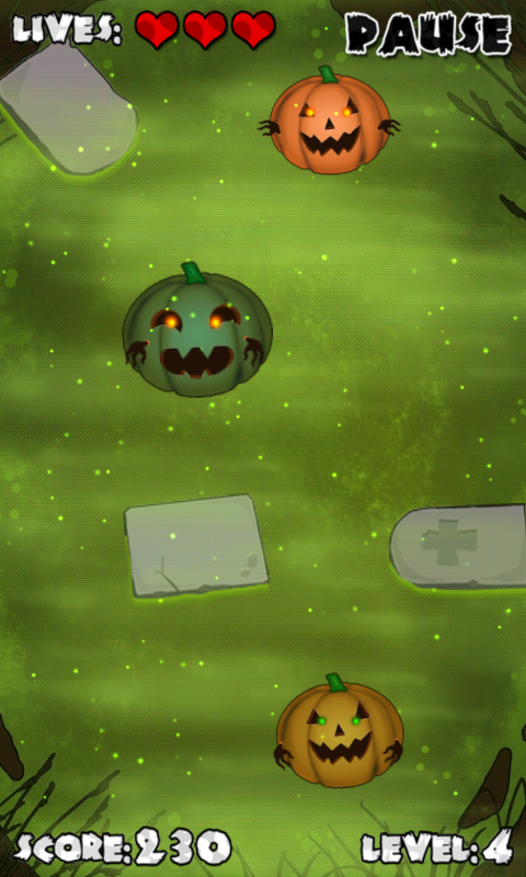 Pumpkins On Graves- screenshot