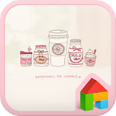 SweetPink dodol launcher theme