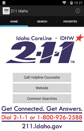 211 Idaho CareLine