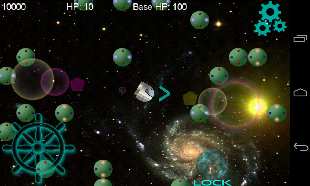 Cosmic Defense- screenshot