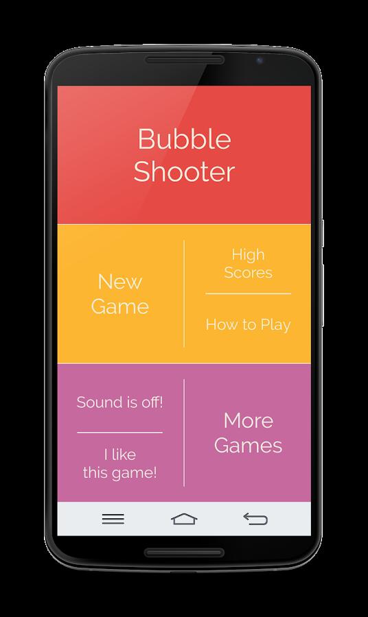 circle bubble shooter