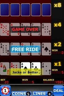 Upgrade Video Poker FREE - screenshot thumbnail