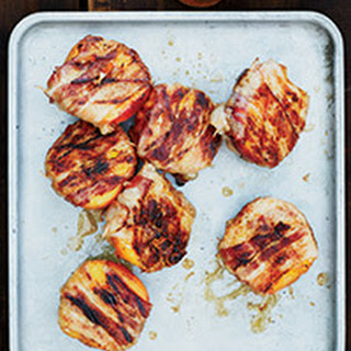 Bacon-Wrapped Peaches