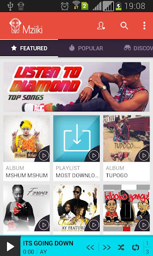 【免費音樂App】Mziiki African Music Streaming-APP點子