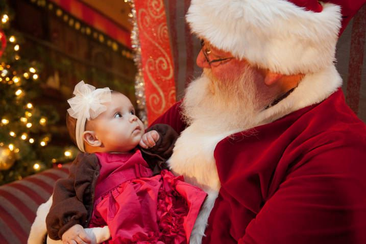 Precious Baby by Bruce King - Public Holidays Christmas