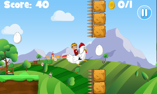 Chicken King Run