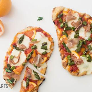 Asparagus and Prosciutto Pizza