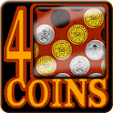 4 Coins (Connect  4) icon
