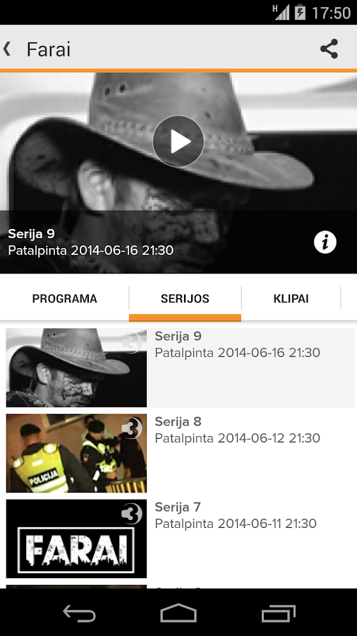 TV3 Play - Lietuva- screenshot
