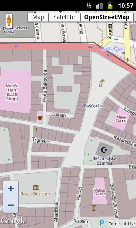 Maps of Bosnia and Herzegovina - screenshot