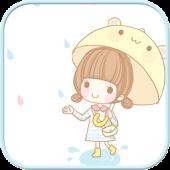 Dasom Rain SMS Theme