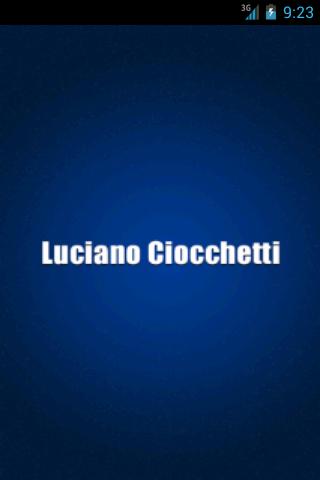 Luciano Ciocchetti - screenshot