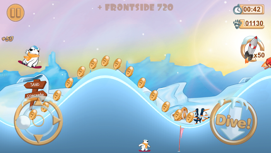 Snowboard Racing Free Fun Game - screenshot thumbnail