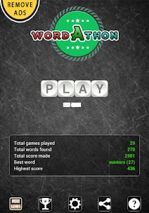 Wordathon: Boggle your mind - screenshot thumbnail