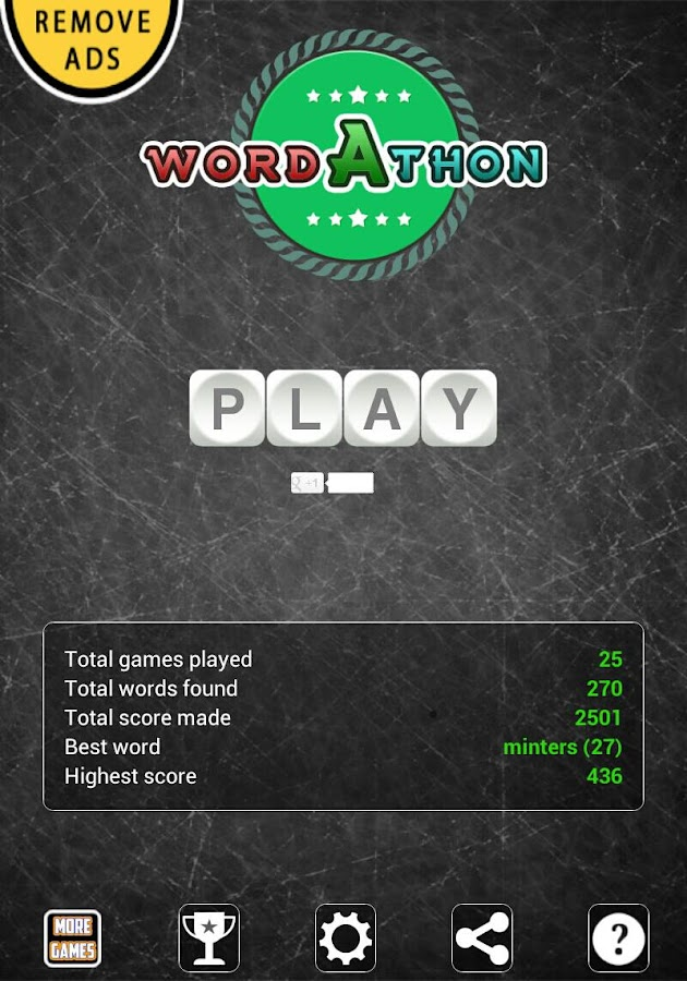 Wordathon: Boggle your mind - screenshot
