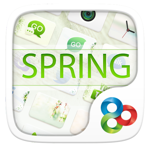 Spring GO Launcher Theme LOGO-APP點子