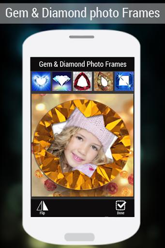 宝石&ダイヤモンドフォトフレーム