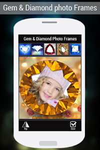 Gem & Diamond Photo Frames screenshot 0
