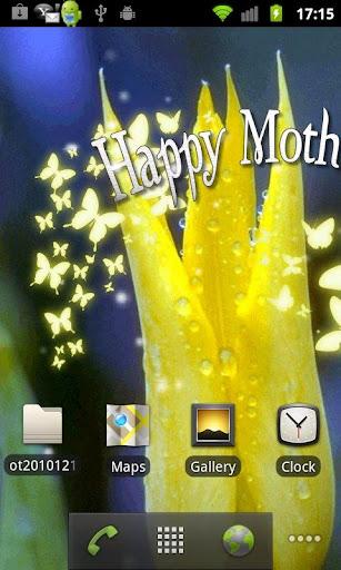 تطبيق خلفيات متحركة لعيد الأم