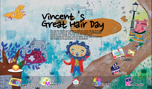 Vincent 's Great Hair Day