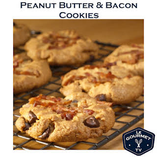 Peanut Butter & Bacon Cookies.