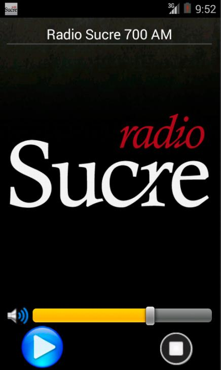 Radio Sucre Ecuador- screenshot
