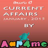 Current Affairs 2015 Telugu