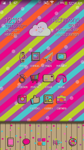Belle Go Launcher Theme