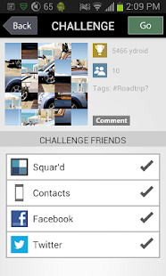 Squard - a photo sharing game - screenshot thumbnail
