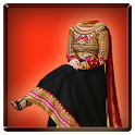 Woman Salwar Suit Photo Maker icon