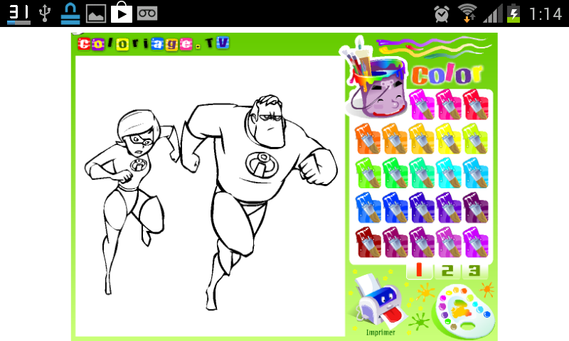 Juegos De Pintar Muchos Dibujos  Dibujos Para Colorear Online