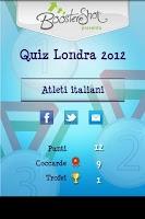 Screenshot of Quiz Londra 2012